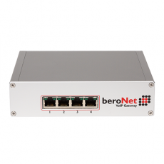4 BRI/S0 modular Gateway - expandable with one additional Module